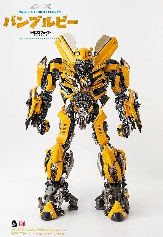 トランスフォーマー/最後の騎士王 DLX バンブルビー threezero 可動フィギュアが予約開始! 1106hobby-Bumblebee-IM002