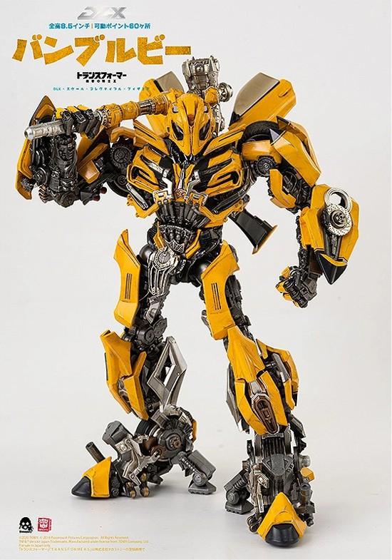 トランスフォーマー/最後の騎士王 DLX バンブルビー threezero 可動フィギュアが予約開始! 1106hobby-Bumblebee-IM004