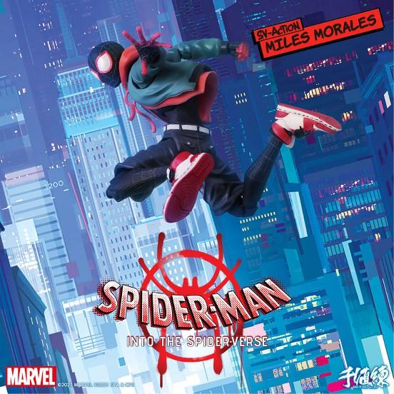 スパイダーマン:スパイダーバース SVアクション マイルス・モラレス/スパイダーマン 千値練 可動フィギュアが予約開始! 1116hopbby-spider-IM001