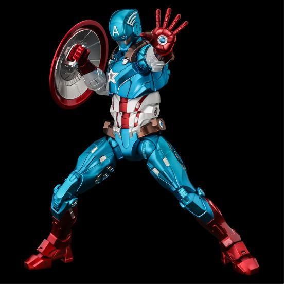 ファイティングアーマー キャプテン・アメリカ 千値練 可動フィギュアが予約開始!シールドは背中への装着も可能! 1210hobby-cap-IM001