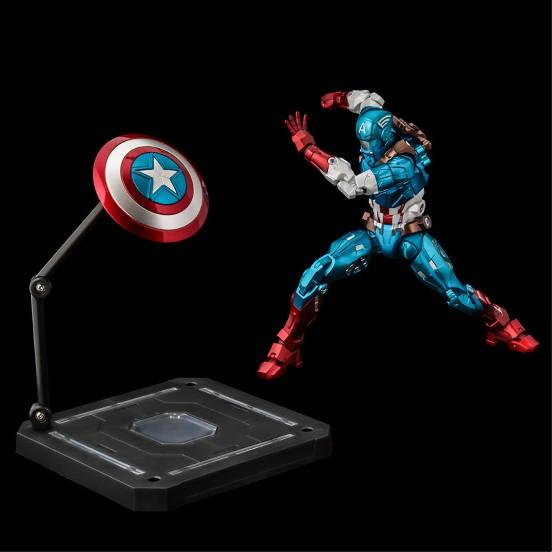 ファイティングアーマー キャプテン・アメリカ 千値練 可動フィギュアが予約開始!シールドは背中への装着も可能! 1210hobby-cap-IM002