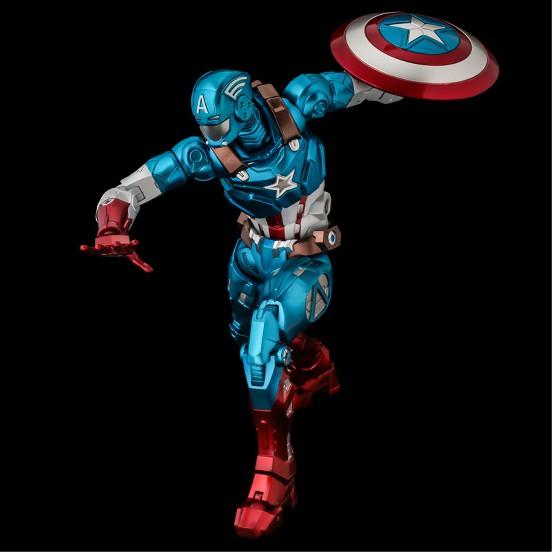 ファイティングアーマー キャプテン・アメリカ 千値練 可動フィギュアが予約開始!シールドは背中への装着も可能! 1210hobby-cap-IM003