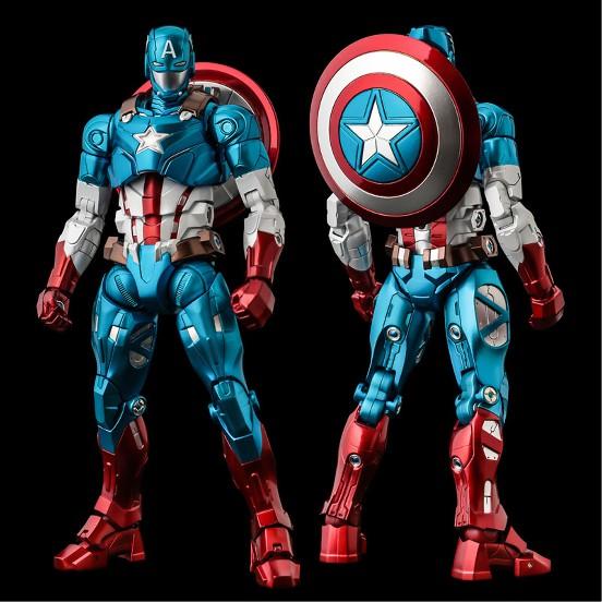 ファイティングアーマー キャプテン・アメリカ 千値練 可動フィギュアが予約開始!シールドは背中への装着も可能! 1210hobby-cap-IM004