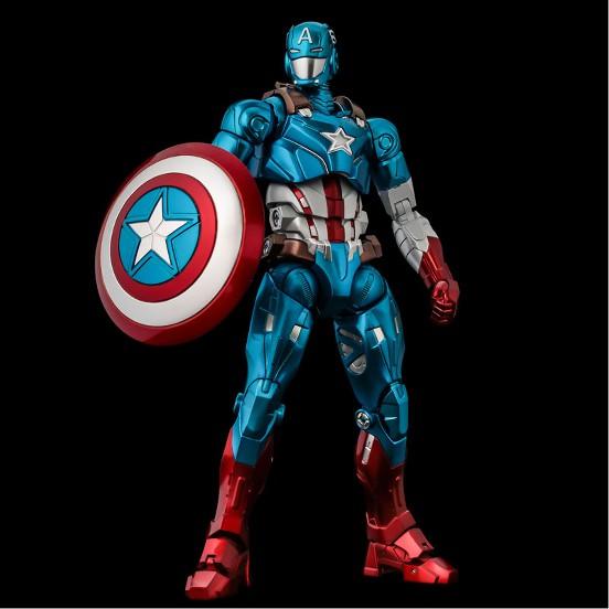 ファイティングアーマー キャプテン・アメリカ 千値練 可動フィギュアが予約開始!シールドは背中への装着も可能! 1210hobby-cap-IM005