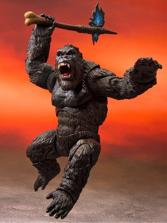 S.H.MonsterArts GODZILLA/KONG from Movie 『GODZILLA VS. KONG』(2021) バンダイ 可動フィギュアが予約開始! 0126hobby-kong-IM001