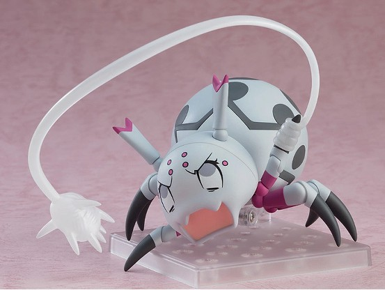 ねんどろいど 蜘蛛ですが、なにか? 蜘蛛子 グッドスマイルカンパニー 可動フィギュアが予約開始! 0205hobby-kumoko-IM003