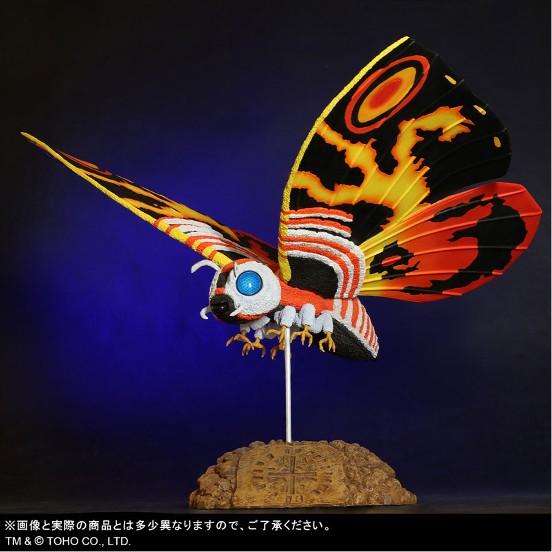 東宝大怪獣シリーズ 「ゴジラVSモスラ」 モスラ(1992) プレックス フィギュアが予約開始! 0209hobby-mosura-IM001