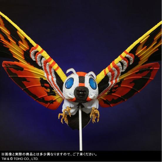 東宝大怪獣シリーズ 「ゴジラVSモスラ」 モスラ(1992) プレックス フィギュアが予約開始! 0209hobby-mosura-IM005