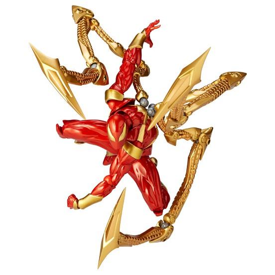 アメイジング・ヤマグチ 023 アイアン・スパイダー 海洋堂 可動フィギュアが予約開始! 0310hobby-AY-IM001