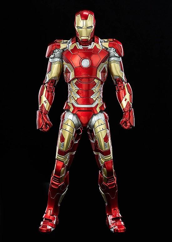 1/12 Scale DLX Iron Man Mark 43 (1/12スケール DLX アイアンマン・マーク43) threezero 可動フィギュアが予約開始! 0312hobby-ironman-IM001