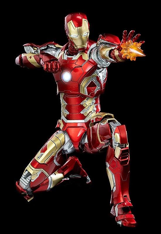 1/12 Scale DLX Iron Man Mark 43 (1/12スケール DLX アイアンマン・マーク43) threezero 可動フィギュアが予約開始! 0312hobby-ironman-IM002