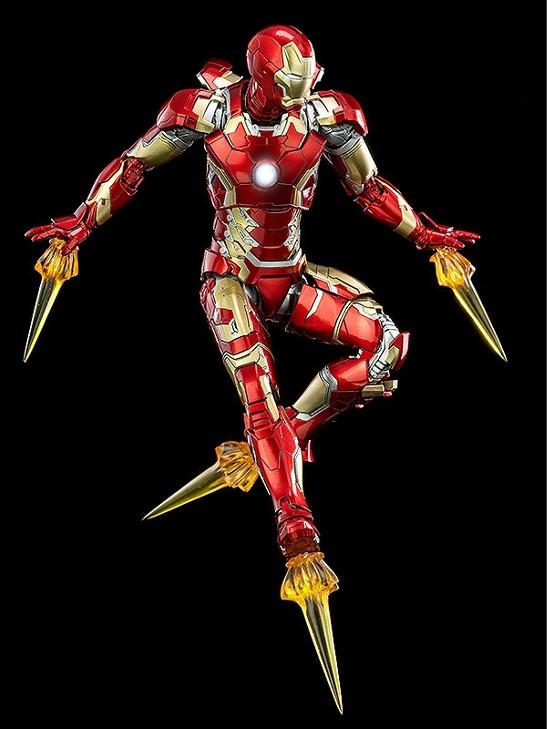 1/12 Scale DLX Iron Man Mark 43 (1/12スケール DLX アイアンマン・マーク43) threezero 可動フィギュアが予約開始! 0312hobby-ironman-IM003