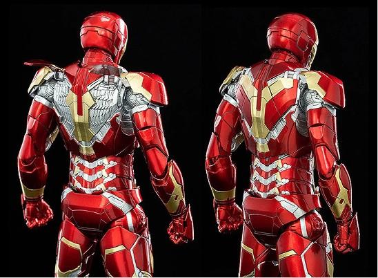 1/12 Scale DLX Iron Man Mark 43 (1/12スケール DLX アイアンマン・マーク43) threezero 可動フィギュアが予約開始! 0312hobby-ironman-IM004