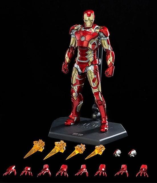 1/12 Scale DLX Iron Man Mark 43 (1/12スケール DLX アイアンマン・マーク43) threezero 可動フィギュアが予約開始! 0312hobby-ironman-IM005
