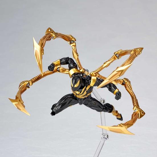 アメイジング・ヤマグチ 023EX アイアン・スパイダーブラックVer. 海洋堂 可動フィギュアが一部店舗限定で予約開始! 0319hobby-black-IM002