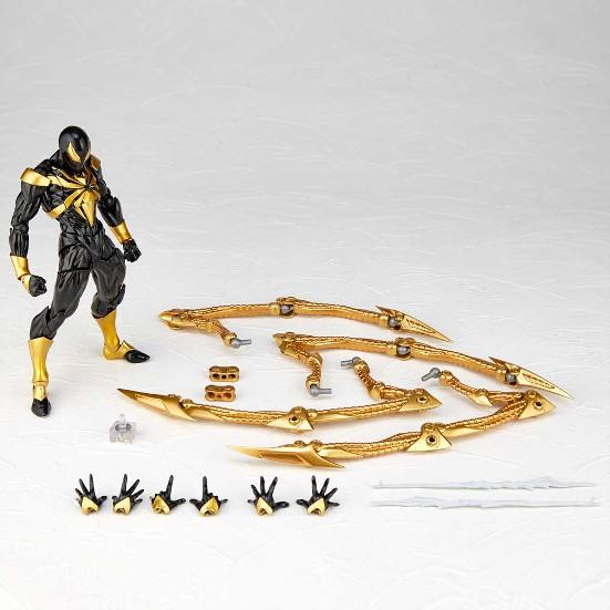 アメイジング・ヤマグチ 023EX アイアン・スパイダーブラックVer. 海洋堂 可動フィギュアが一部店舗限定で予約開始! 0319hobby-black-IM005