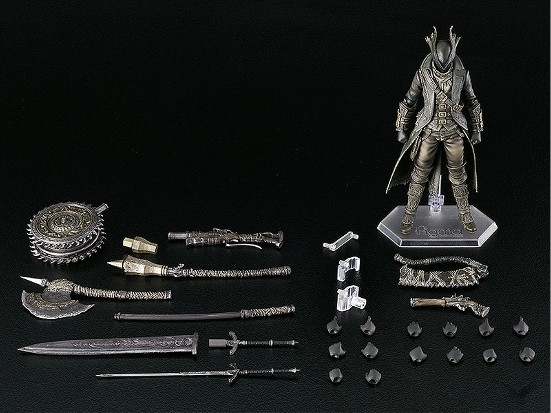 figma Bloodborne 狩人 The Old Hunters Edition/通常版(再販)/狩人武器セット 可動フィギュアが予約開始! 0325hobby-kariud-IM001