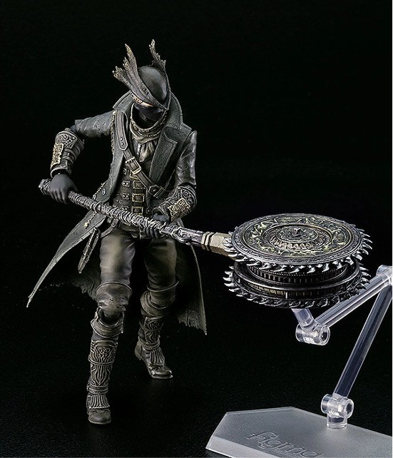 figma Bloodborne 狩人 The Old Hunters Edition/通常版(再販)/狩人武器セット 可動フィギュアが予約開始! 0325hobby-kariud-IM002