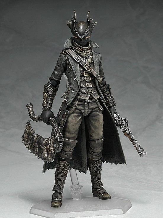 figma Bloodborne 狩人 The Old Hunters Edition/通常版(再販)/狩人武器セット 可動フィギュアが予約開始! 0325hobby-kariud-IM003