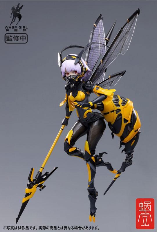 BEE-03W WASP GIRL ブンちゃん 蝸之殼スタジオ 可動フィギュアが予約開始! 0406hobby-bun-IM001