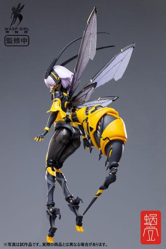 BEE-03W WASP GIRL ブンちゃん 蝸之殼スタジオ 可動フィギュアが予約開始! 0406hobby-bun-IM003