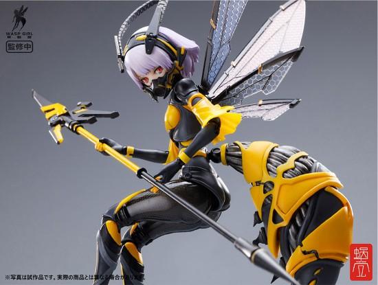 BEE-03W WASP GIRL ブンちゃん 蝸之殼スタジオ 可動フィギュアが予約開始! 0406hobby-bun-IM004