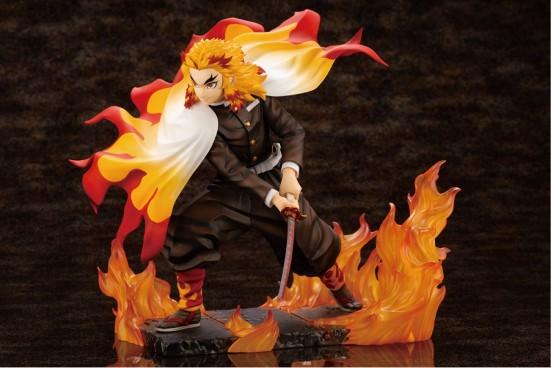 ARTFX J 鬼滅の刃 煉獄杏寿郎 コトブキヤ フィギュアが予約開始!刀を振り下ろした一瞬の姿を切り取り立体化! 0427hobby-rengoku-IM002