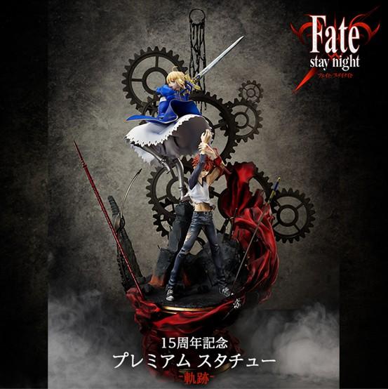 劇場版「Fate/stay night [Heaven's Feel] 15周年記念 プレミアム スタチュー -軌跡- [数量限定・先着販売] フィギュアがANIPLEX+限定で予約開始! 0501hobby-fate-IM001