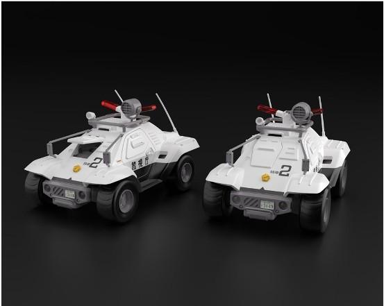 機動警察パトレイバー 1/43 AV-98 イングラム1号機/98式特型指揮車 2台セット アオシマ プラモデルが予約開始! 0517hobby-pat-IM003