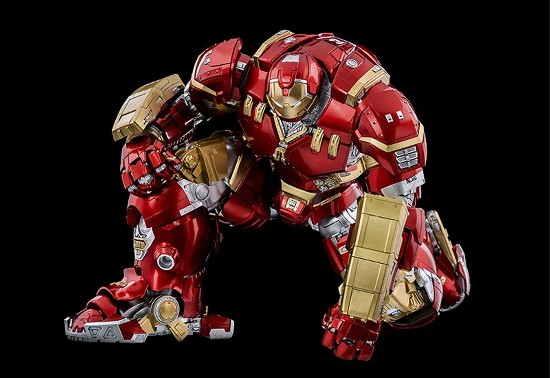 "DLX アイアンマン・マーク44""ハルクバスター""  threezero 可動フィギュアが予約開始! 0611hobby-hulk-IM003"