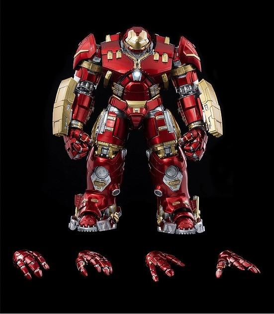 "DLX アイアンマン・マーク44""ハルクバスター""  threezero 可動フィギュアが予約開始! 0611hobby-hulk-IM005"