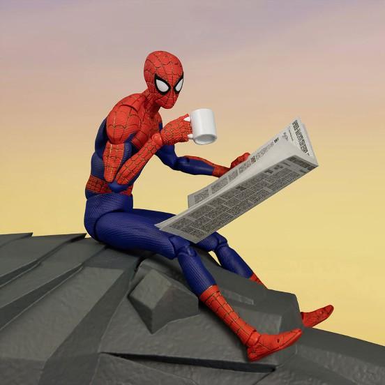 スパイダーマン:スパイダーバース SVアクション ピーター・B・ パーカー/スパイダーマン 千値練 可動フィギュアが予約開始! 0617hobby-spider-IM001
