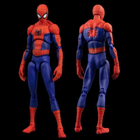 スパイダーマン:スパイダーバース SVアクション ピーター・B・ パーカー/スパイダーマン 千値練 可動フィギュアが予約開始! 0617hobby-spider-IM002