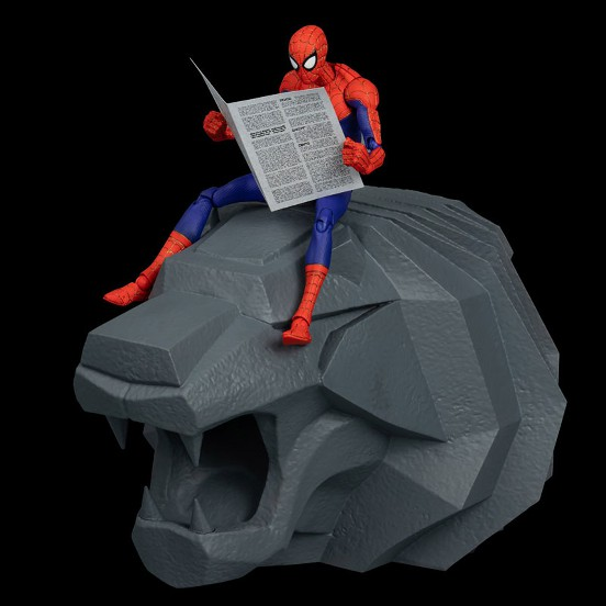 スパイダーマン:スパイダーバース SVアクション ピーター・B・ パーカー/スパイダーマン 千値練 可動フィギュアが予約開始! 0617hobby-spider-IM004