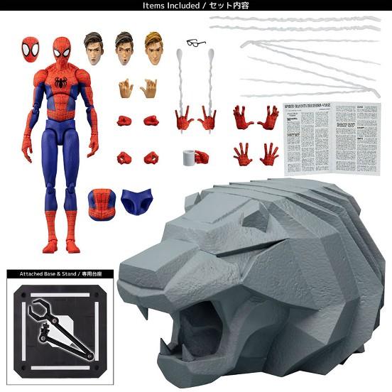 スパイダーマン:スパイダーバース SVアクション ピーター・B・ パーカー/スパイダーマン 千値練 可動フィギュアが予約開始! 0617hobby-spider-IM005