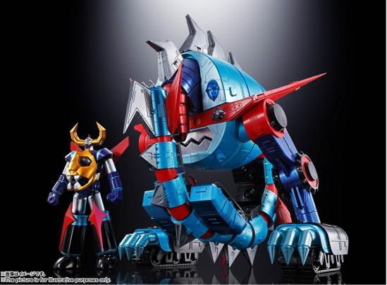 超合金魂 GX-100 ガイキング&大空魔竜 バンダイ 可動フィギュアが予約開始!超巨大スケールで立体化! 0625hobby-gaiking-IM001