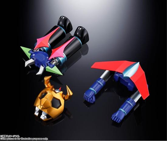 超合金魂 GX-100 ガイキング&大空魔竜 バンダイ 可動フィギュアが予約開始!超巨大スケールで立体化! 0625hobby-gaiking-IM003