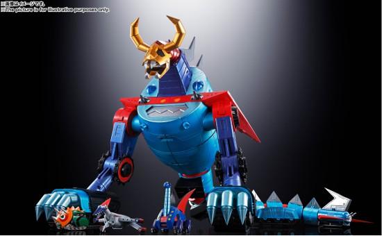 超合金魂 GX-100 ガイキング&大空魔竜 バンダイ 可動フィギュアが予約開始!超巨大スケールで立体化! 0625hobby-gaiking-IM004