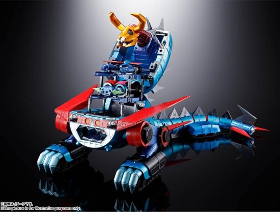 超合金魂 GX-100 ガイキング&大空魔竜 バンダイ 可動フィギュアが予約開始!超巨大スケールで立体化! 0625hobby-gaiking-IM005