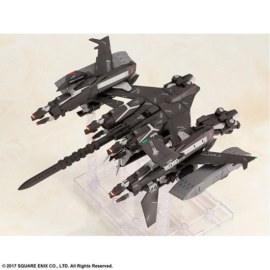 【駿河屋追加(6/28)】NieR:Automata プラスチックモデルキット 飛行ユニットHo229 Type-S & 9S(ヨルハ九号S型) スクエニが予約開始! 0625hobby-nier-IM003