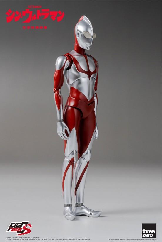 フィグゼロS 6インチ ウルトラマン(映画『シン・ウルトラマン』) threezero 可動フィギュアが予約開始! 0702hobby-ultra-IM002
