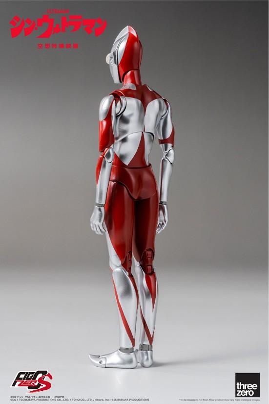 フィグゼロS 6インチ ウルトラマン(映画『シン・ウルトラマン』) threezero 可動フィギュアが予約開始! 0702hobby-ultra-IM003