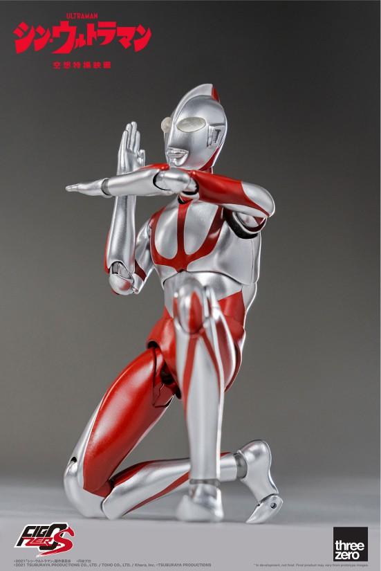 フィグゼロS 6インチ ウルトラマン(映画『シン・ウルトラマン』) threezero 可動フィギュアが予約開始! 0702hobby-ultra-IM005