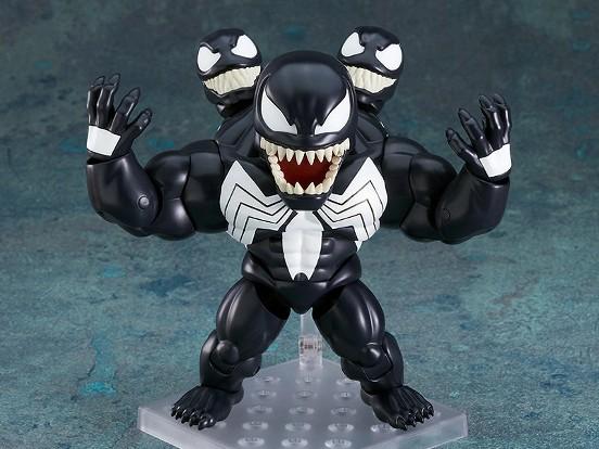 ねんどろいど ヴェノム『Marvel Comics』 グッドスマイルカンパニー 可動フィギュアが予約開始! 0706hobby-venom-IM004