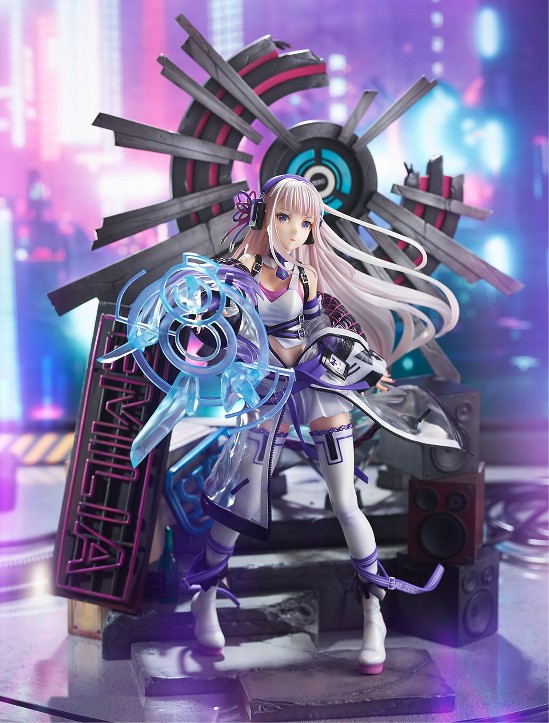 Re:ゼロから始める異世界生活 エミリア-Neon City Ver.- eStream フィギュアが公式ショップにて予約開始! 0716hobby-emilya-IM005