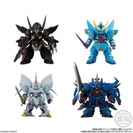 バンダイ スーパーロボット大戦OG ORIGINAL COLLECTION 01(4個入) が予約開始! 0720hobby-SRW-IM001