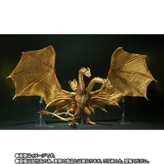 S.H.MonsterArts キングギドラ(2019)Special Color Ver. バンダイ 可動フィギュアがプレバン限定で予約開始! 0805hobby-KG-IM001
