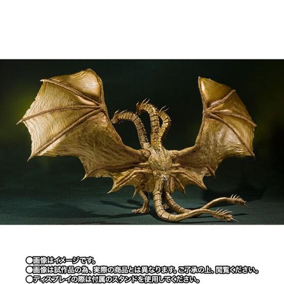 S.H.MonsterArts キングギドラ(2019)Special Color Ver. バンダイ 可動フィギュアがプレバン限定で予約開始! 0805hobby-KG-IM002