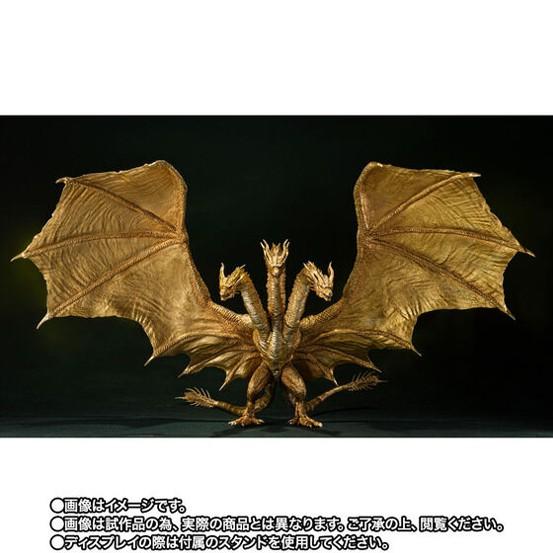 S.H.MonsterArts キングギドラ(2019)Special Color Ver. バンダイ 可動フィギュアがプレバン限定で予約開始! 0805hobby-KG-IM003