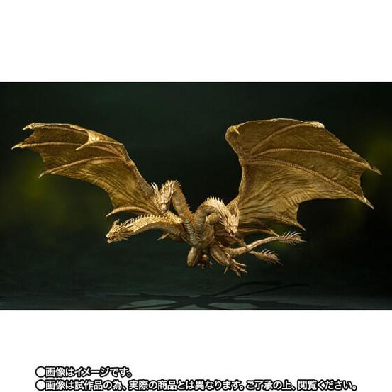 S.H.MonsterArts キングギドラ(2019)Special Color Ver. バンダイ 可動フィギュアがプレバン限定で予約開始! 0805hobby-KG-IM004